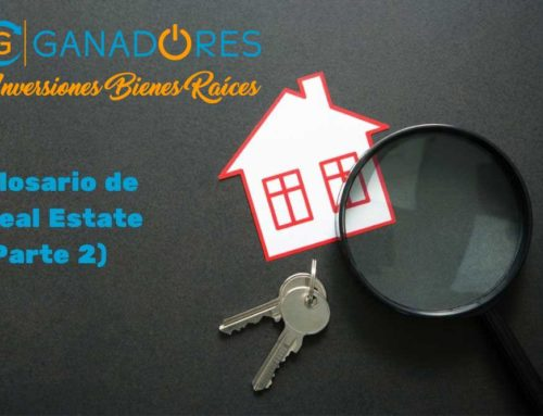 Glosario para Real Estate. Parte II