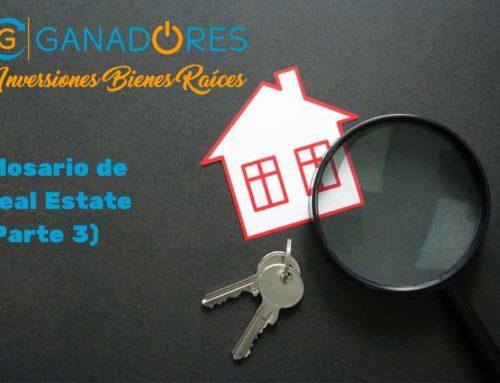 Glosario para Real Estate. Parte III