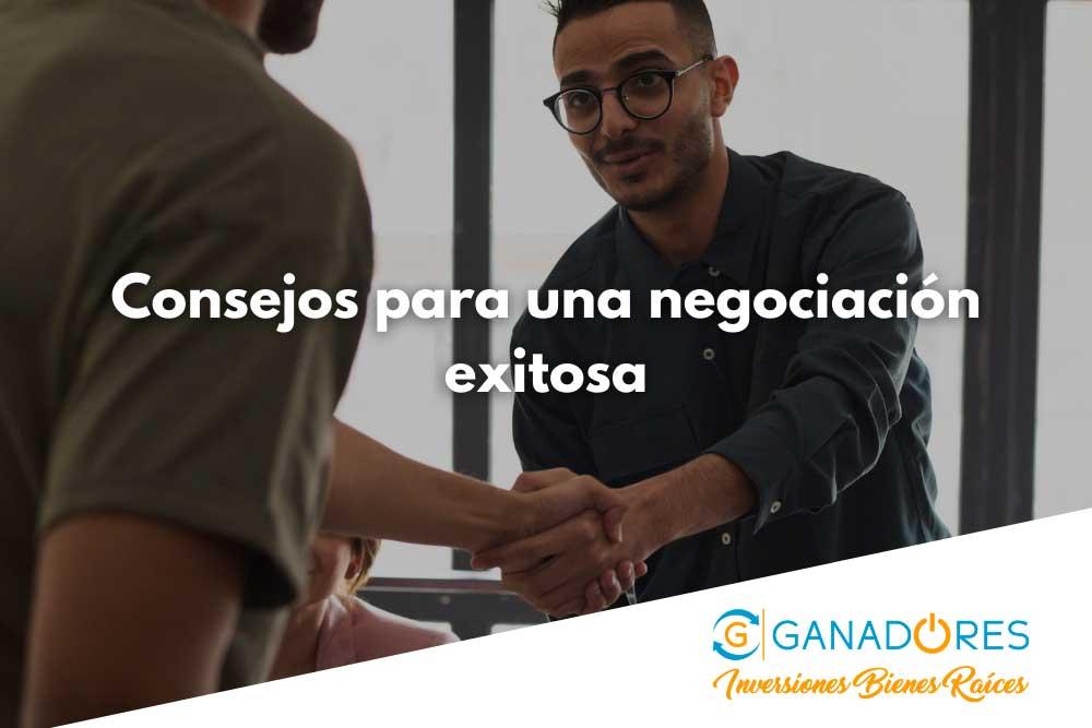 Consejos para una negociación exitosa