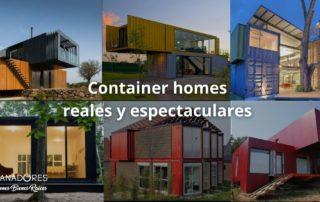 Container homes reales y espectaculares