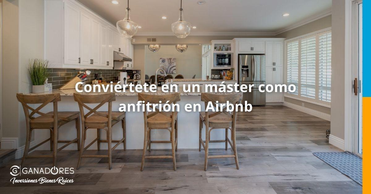 anfitrión en Airbnb