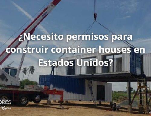 ¿Necesito permisos para construir container homes en Estados Unidos?