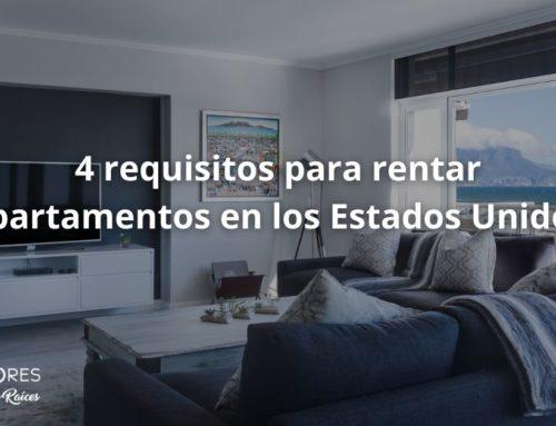 4 requisitos para rentar apartamentos en los Estados Unidos