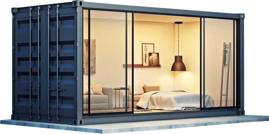 mercado inmobiliario de los Container Homes